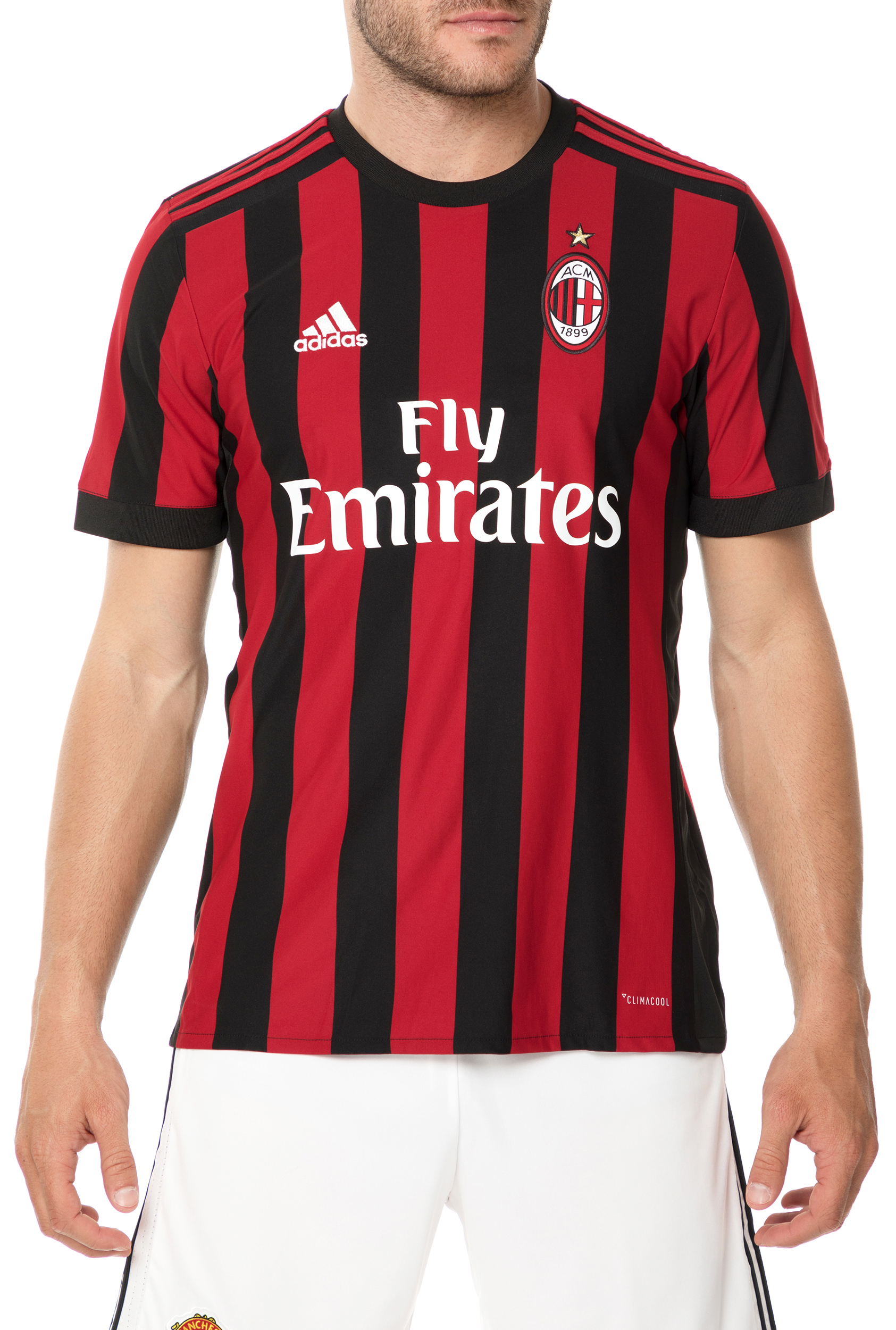 Sport-loft adidas Performance - Ανδρική φανέλα ποδοσφαίρου adidas AC Milan  Home Replica Jersey 6ad1f1dd006