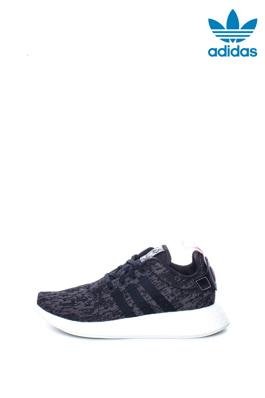 adidas Originals – Γυναικεία αθλητικά παπούτσια NMD_R2 γκρι-μαύρα