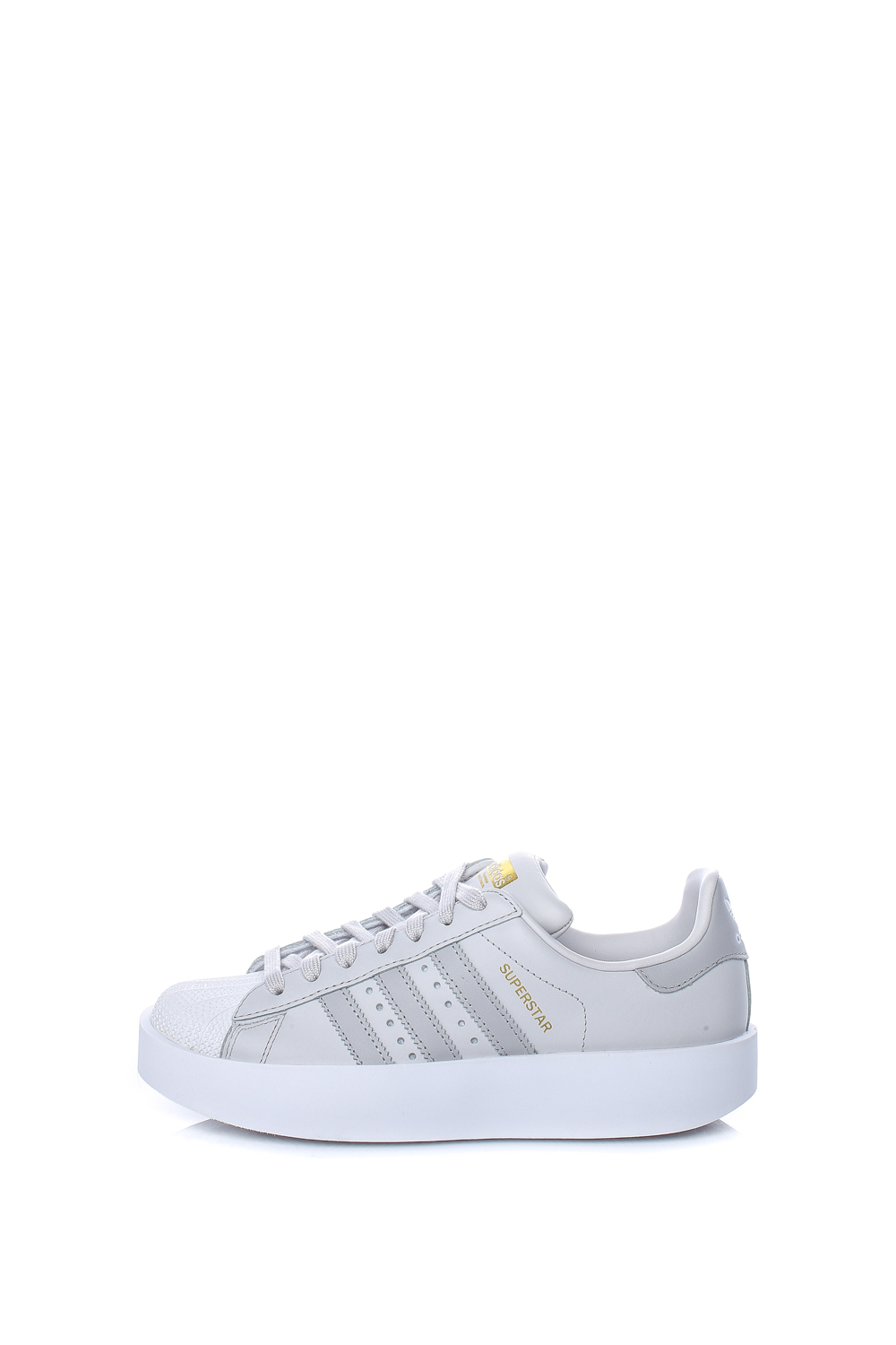 adidas Originals – Γυναικεία sneakers SUPERSTAR BOLD γκρι