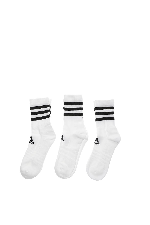 adidas Performance - Unisex κάλτσες σετ των 3 adidas Performance 3S CSH CRW3P λευκές