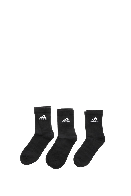 adidas Originals - Unisex κάλτσες σετ των 3 adidas Originals CUSH CRW 3PP μαύρες