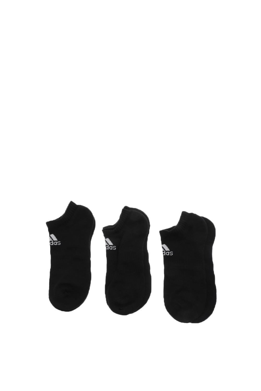 adidas Performance - Unisex κοντές κάλτσες adidas Performance CUSH LOW 3PP μαύρες