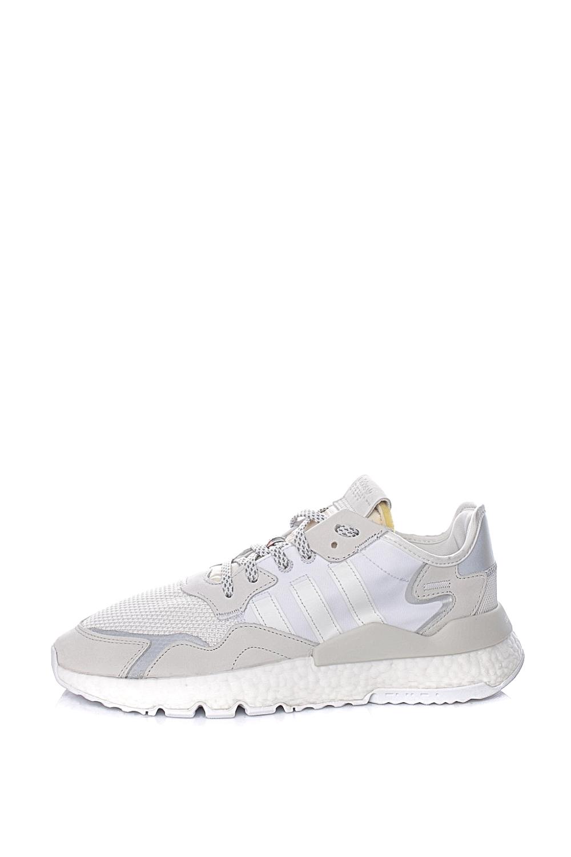 ADIDAS – Ανδρικά αθλητικά παπούσια ADIDAS NITE JOGGER λευκά