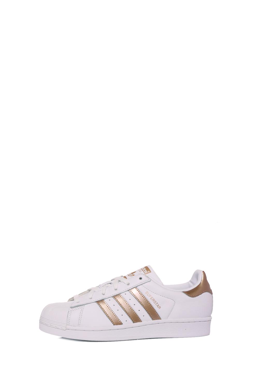 ADIDAS – Γυναικεία sneakers ADIDAS SUPERSTAR λευκά
