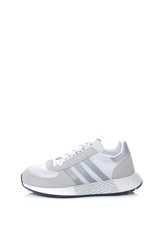 adidas Originals - Unisex παπούτσια running MARATHON TECH adidas Originals λευκά γκρι