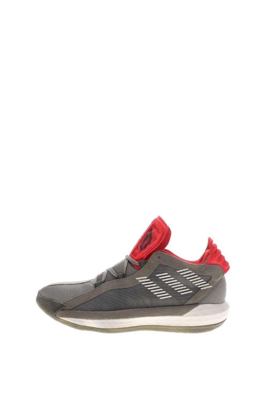 adidas Performance – Unisex μπασκετικά παπούτσια adidas Performance Dame 6 γκρι κόκκινα