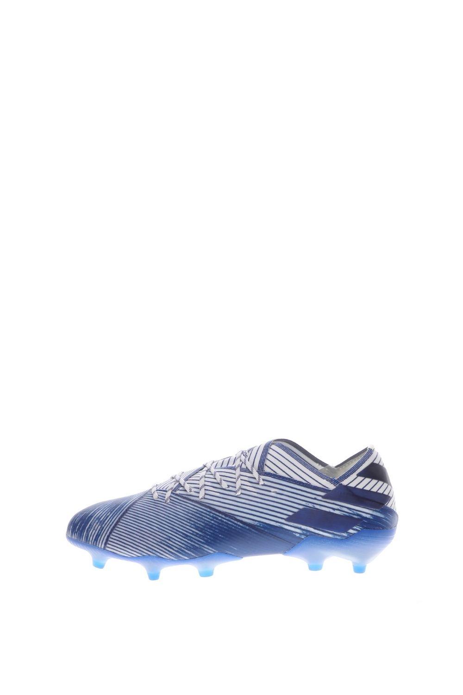 adidas Performance – Ανδρικά ποδοσφαιρικά παπούτσια adidas PerformanceNEMEZIZ 19.1 FG λευκά μπλε