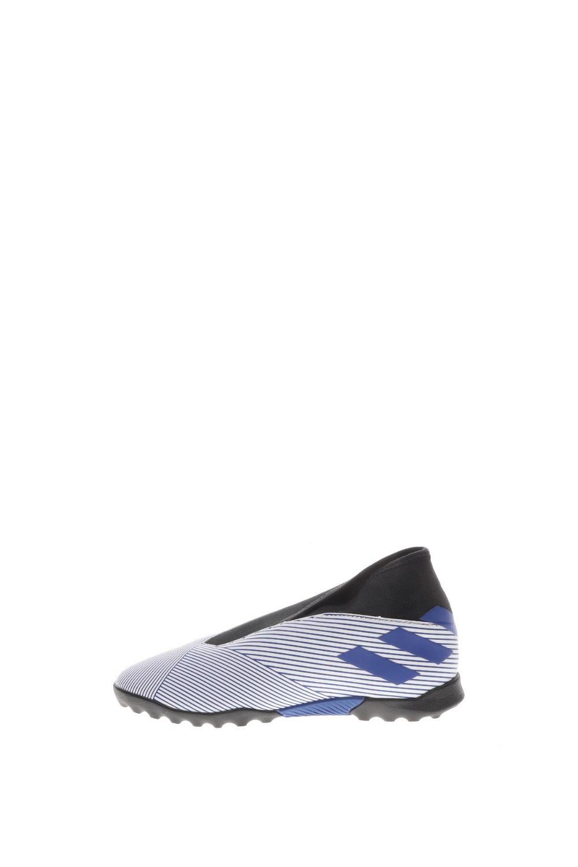 adidas Performance – Παιδικά ποδοσφαιρικά παπούτσια adidas Performance NEMEZIZ 19.3 LL TF J λευκά μπλε