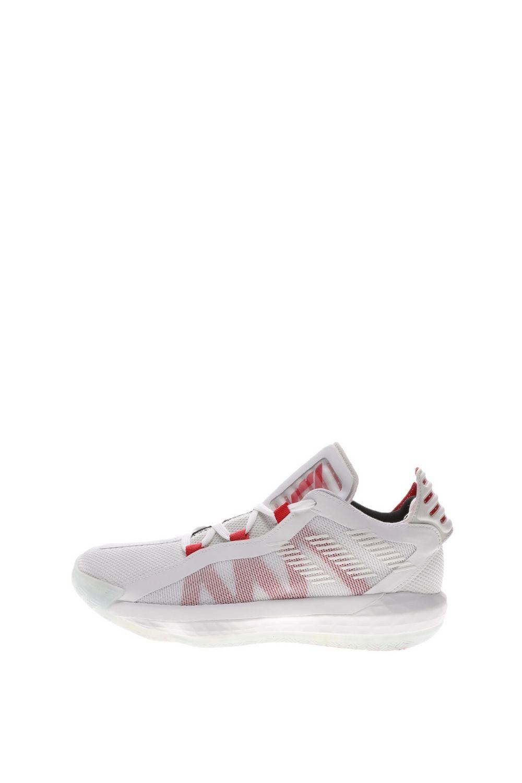 adidas Performance – Unisex παπούτσια basketball adidas Performance Dame 6 λευκά κόκκινα