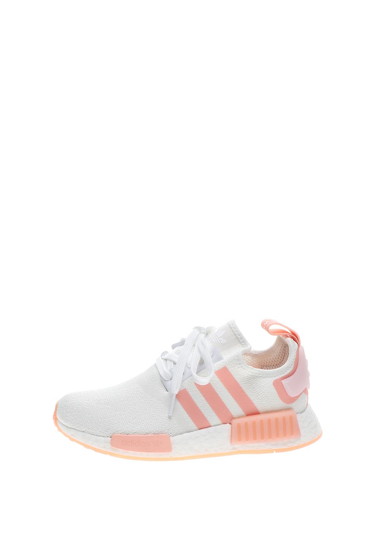 adidas Originals – Γυναικεία παπούτσια running adidas Originals NMD_R1 W λευκά ροζ