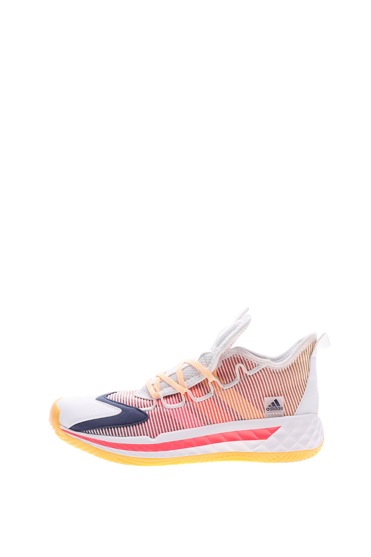 adidas Performance – Unisex παπούτσια basketball adidas Performance FW8653 Coll3ctiv3 2020 Low λευκά ροζ