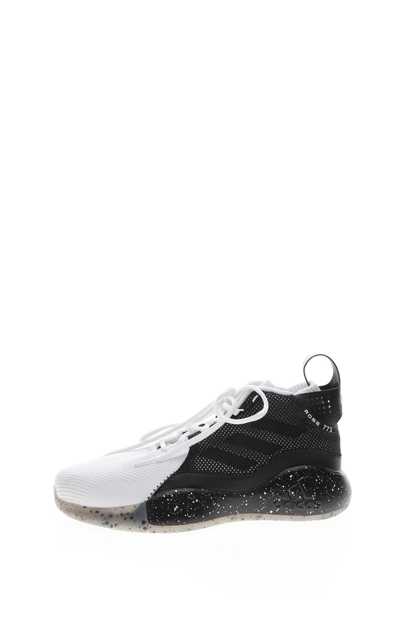 ADIDAS – Unisex παπούτσια μπάσκετ adidas D Rose Takedown λευκό-μαύρο