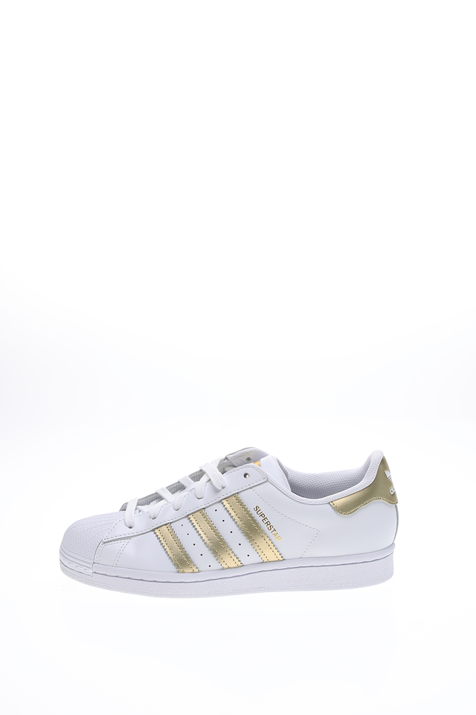 adidas Originals – Γυναικεία sneakers adidas Originals SUPERSTAR λευκά χρυσά
