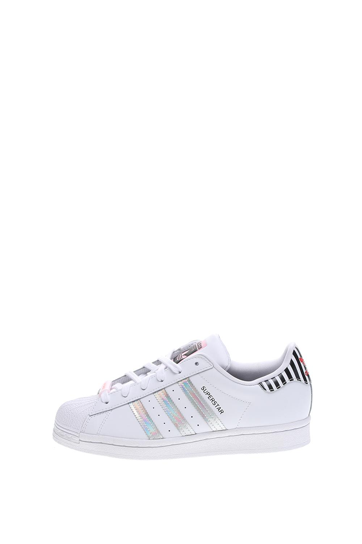 adidas Originals – Γυναικεία sneakers adidas Originals SUPERSTAR BOLD λευκά ασημί