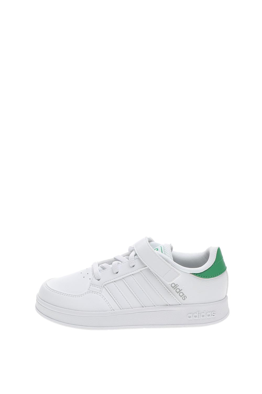 adidas Originals – Παιδικά sneakers adidas Originals BREAKNET C λευκά