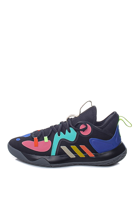 adidas Performance – Unisex παπούτσια basketball Harden Stepback 2 μαύρα μπλε