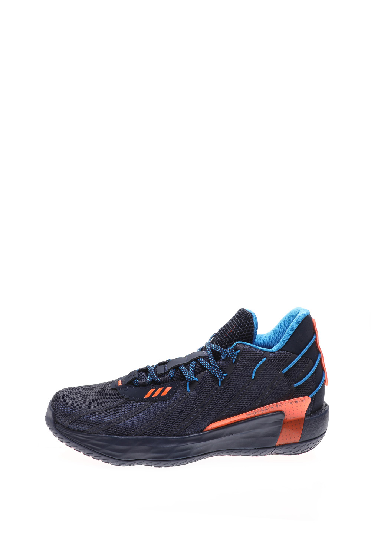 adidas Performance – Unisex παπούτσια basketball adidas Performance Dame 7 GCA – Lights Out μπλε