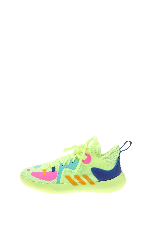 adidas Performance – Unisex παπούτσια basketball adidas Performance Harden Stepback 2 κίτρινα μπλε