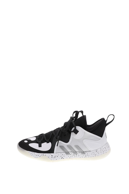 adidas Performance – Unisex παπούτσια basketball adidas Performance Harden Stepback 2 λευκά μαύρα