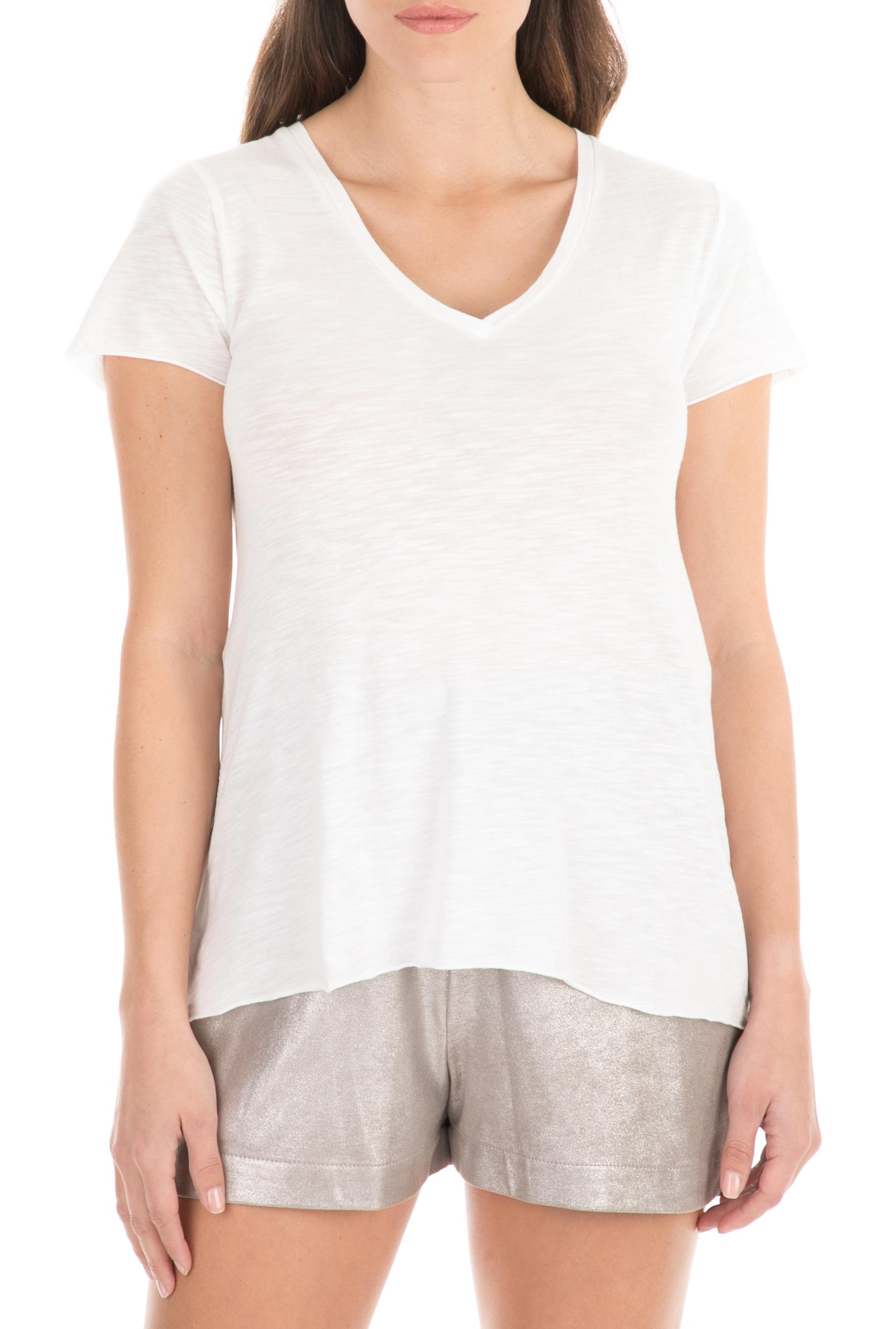 AMERICAN VINTAGE - Γυναικείο t-shirt AMERICAN VINTAGE λευκό