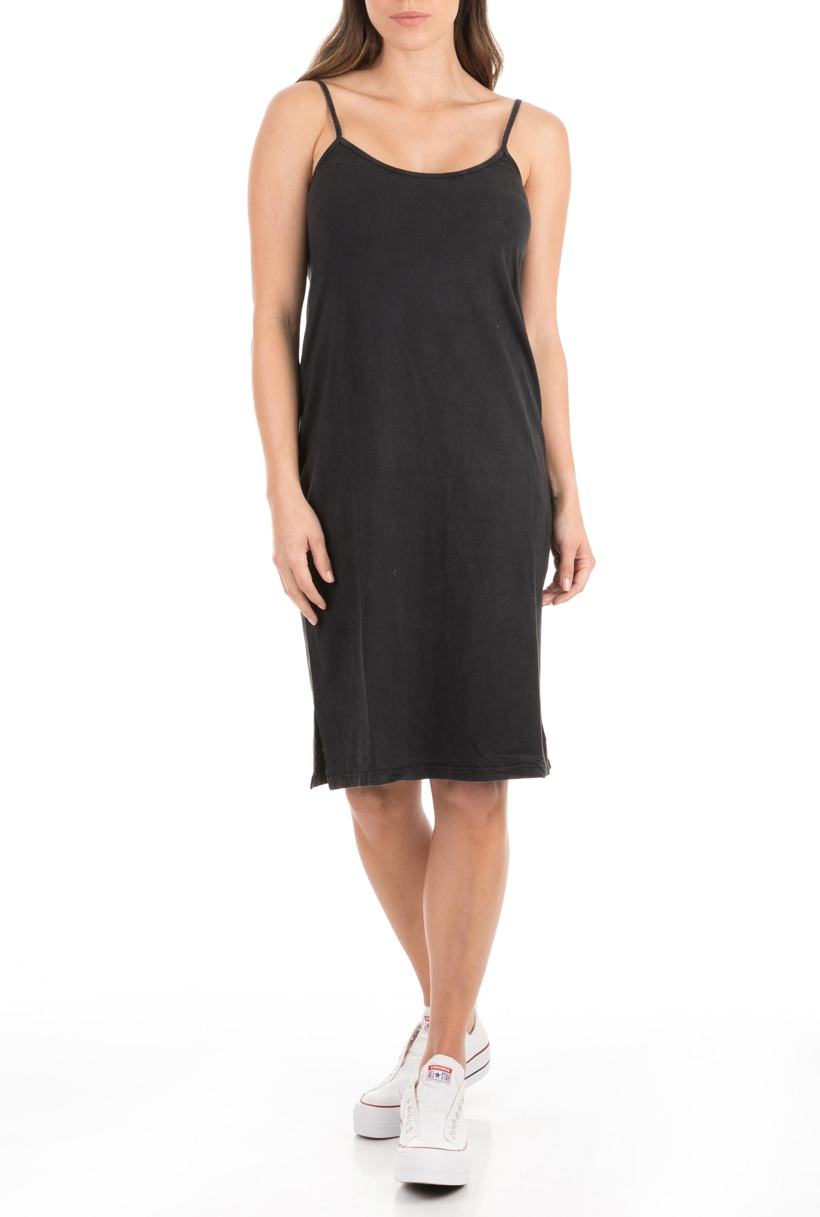 AMERICAN VINTAGE - Γυναικείο midi φόρεμα AMERICAN VINTAGE μαύρο