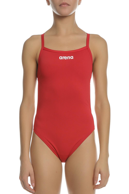 ARENA - Ολόσωμο μαγιό ARENA SOLID LIGHT-ΤECH κόκκινο
