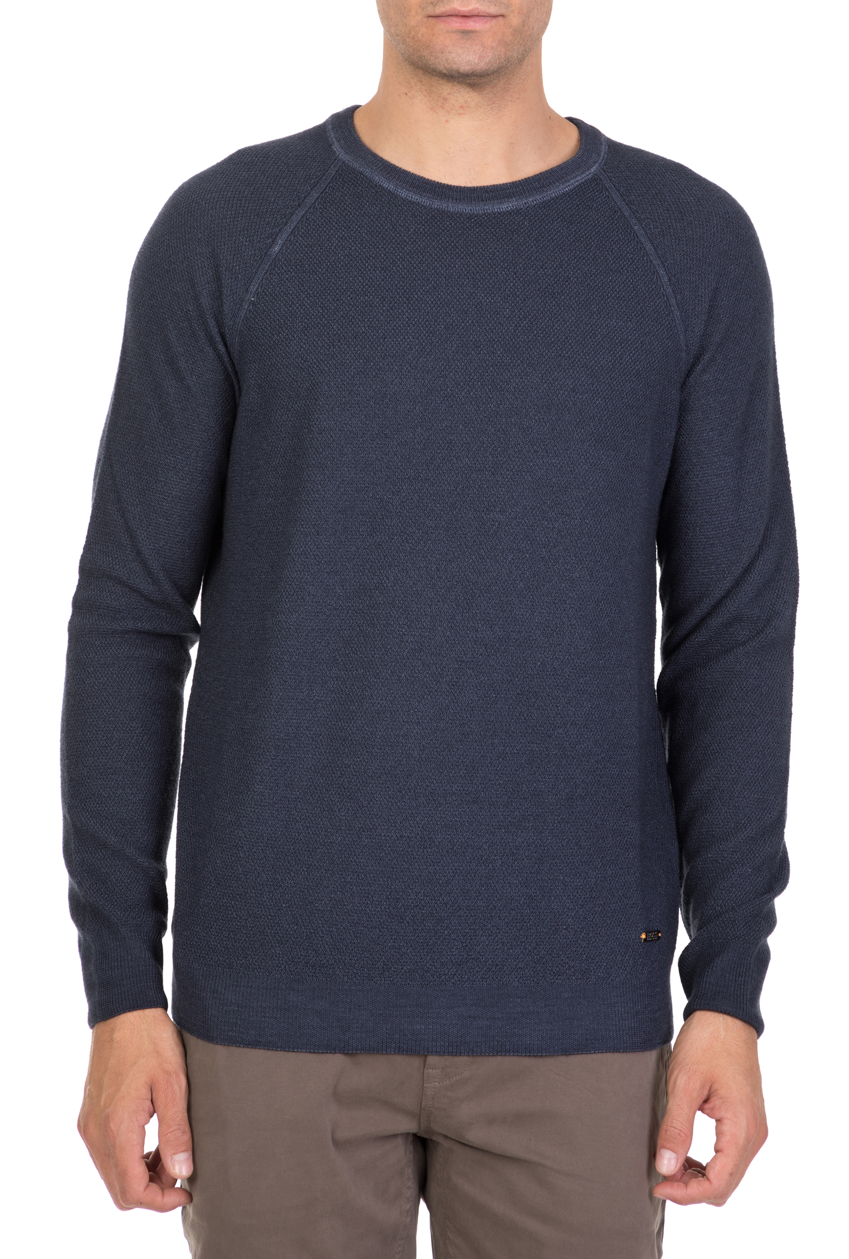 460e26f79f62 CollectiveOnline BOSS - Ανδρική μακρυμάνικη μπλούζα BOSS Akutisro μπλε