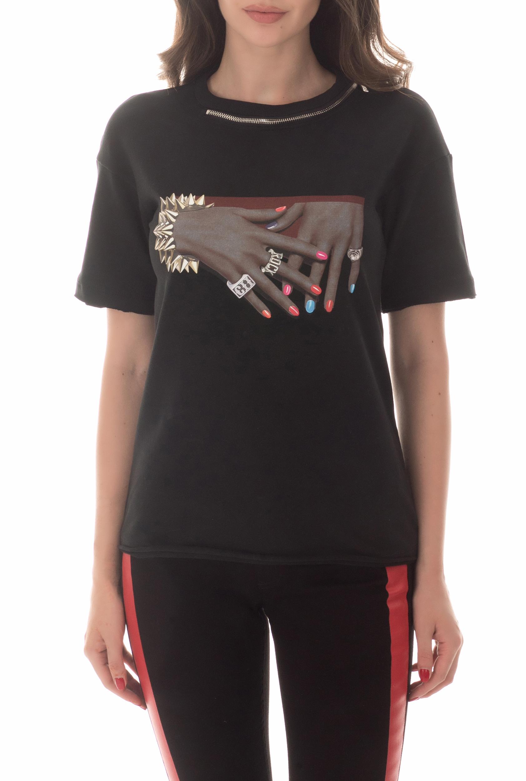 BYBLOS - Γυναικείο t-shirt BYBLOS μαύρο
