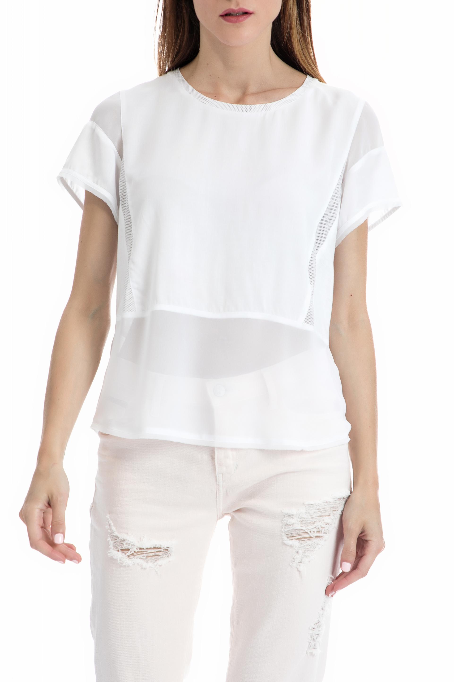 430b7bf56ccd CollectiveOnline CALVIN KLEIN JEANS - Γυναικεία μπλούζα CALVIN KLEIN JEANS  λευκή