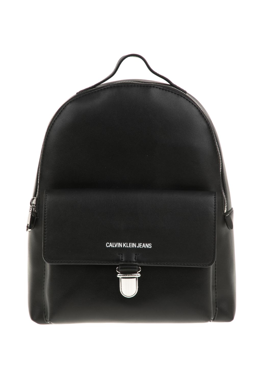 CALVIN KLEIN JEANS - Γυναικεία τσάντα πλάτης SCULPTED CALVIN KLEIN JEANS μαύρη