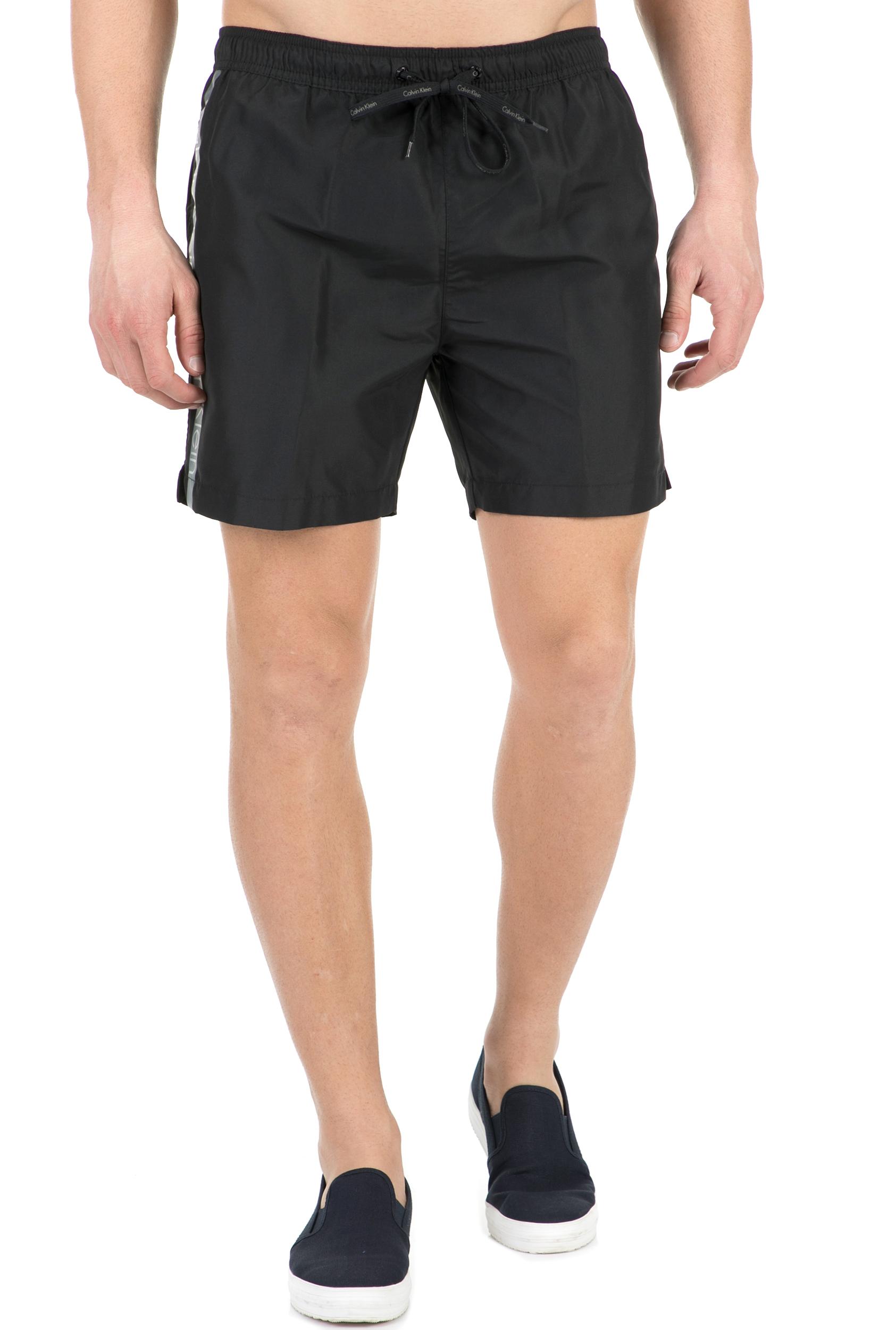 3161c17aa78 CK UNDERWEAR - Ανδρικό μαγιό σορτς CK Underwear MEDIUM DRAWSTRING μαύρο