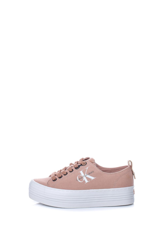 CALVIN KLEIN JEANS – Γυναικεία sneakers CALVIN KLEIN JEANS ZOLAH ροζ