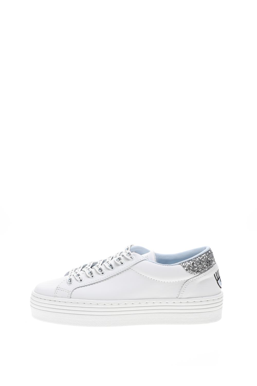 CHIARRA FERRAGNI – Γυναικεία sneakers CHIARRA FERRAGNI SHOES NAME LACE λευκά