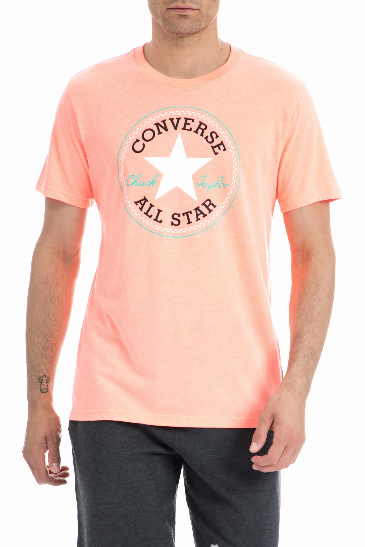 d5bd54c42d74 CollectiveOnline CONVERSE - Ανδρική μπλούζα Converse σομών-πορτοκαλί