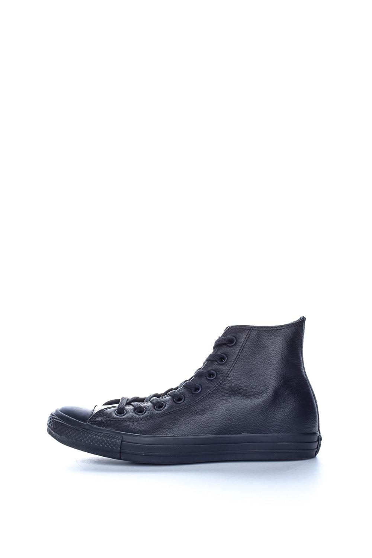 CONVERSE – Unisex μποτάκια Chuck Taylor All Star Leather CONVERSE μαύρα