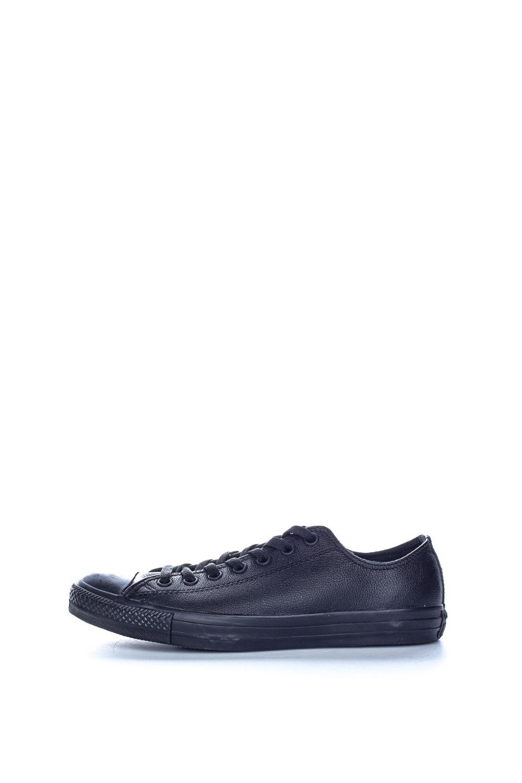 CONVERSE – Unisex παπούτσια Chuck Taylor All Star Leather CONVERSE μαύρα
