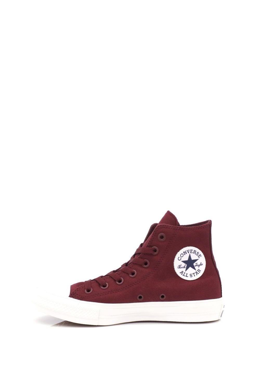 CONVERSE – Unisex ψηλά sneakers CONVERSE Chuck Taylor All Star II Hi μπορντό