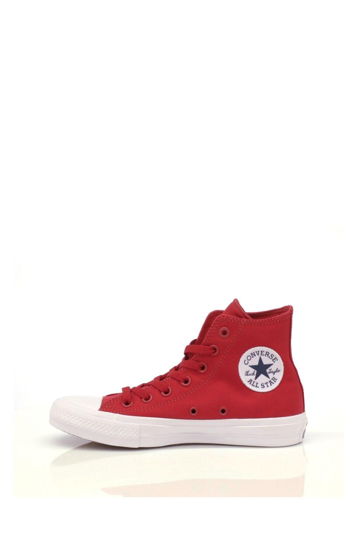 CONVERSE – Unisex ψηλά sneakers CONVERSE Chuck Taylor All Star Hi κόκκινα