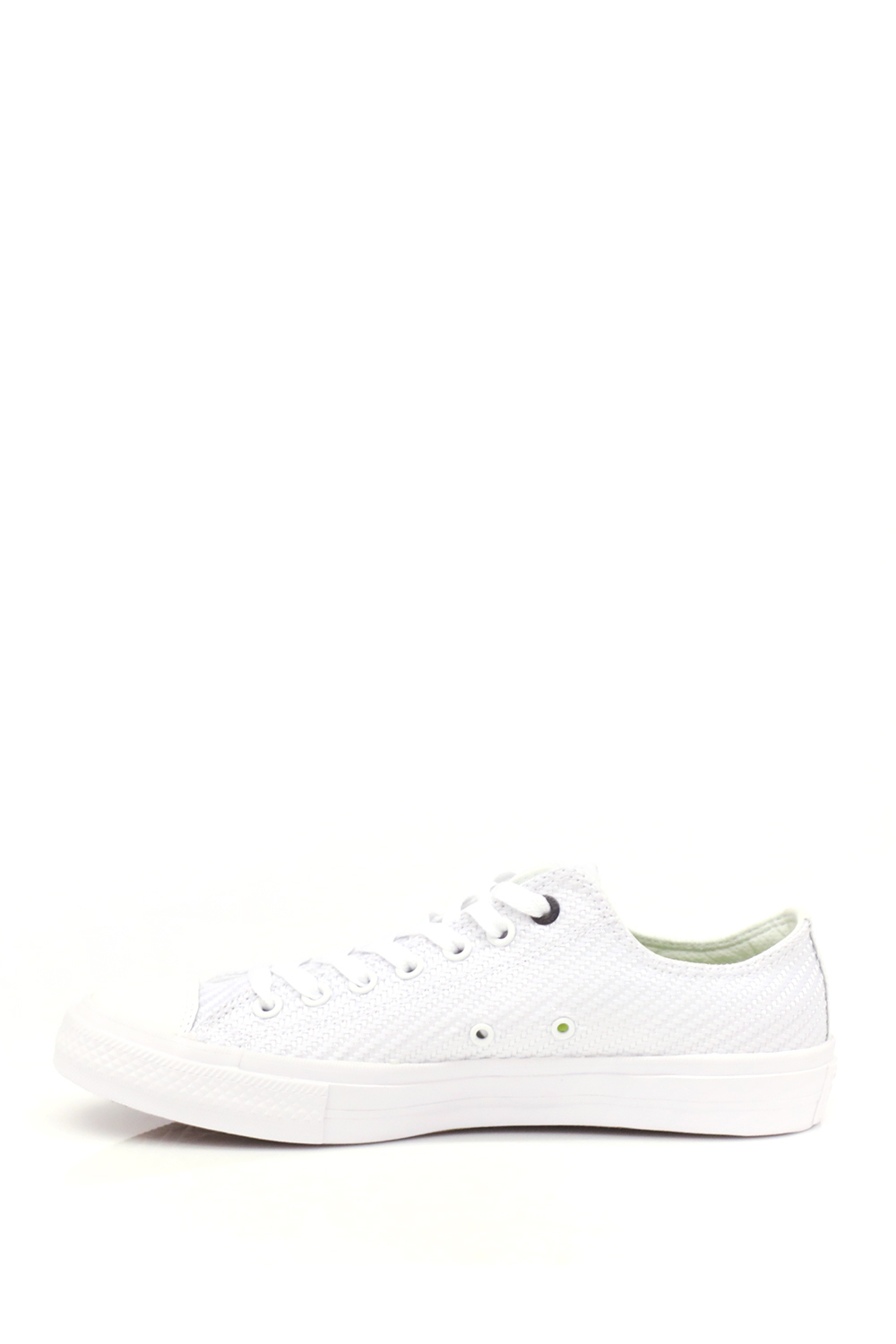 CONVERSE - Unisex Chuck Taylor All Star II Ox Λευκά