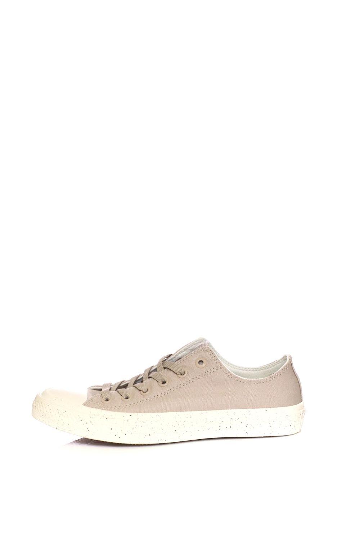 CONVERSE – Unisex sneakers CONVERSE Chuck Taylor All Star II Ox μπεζ