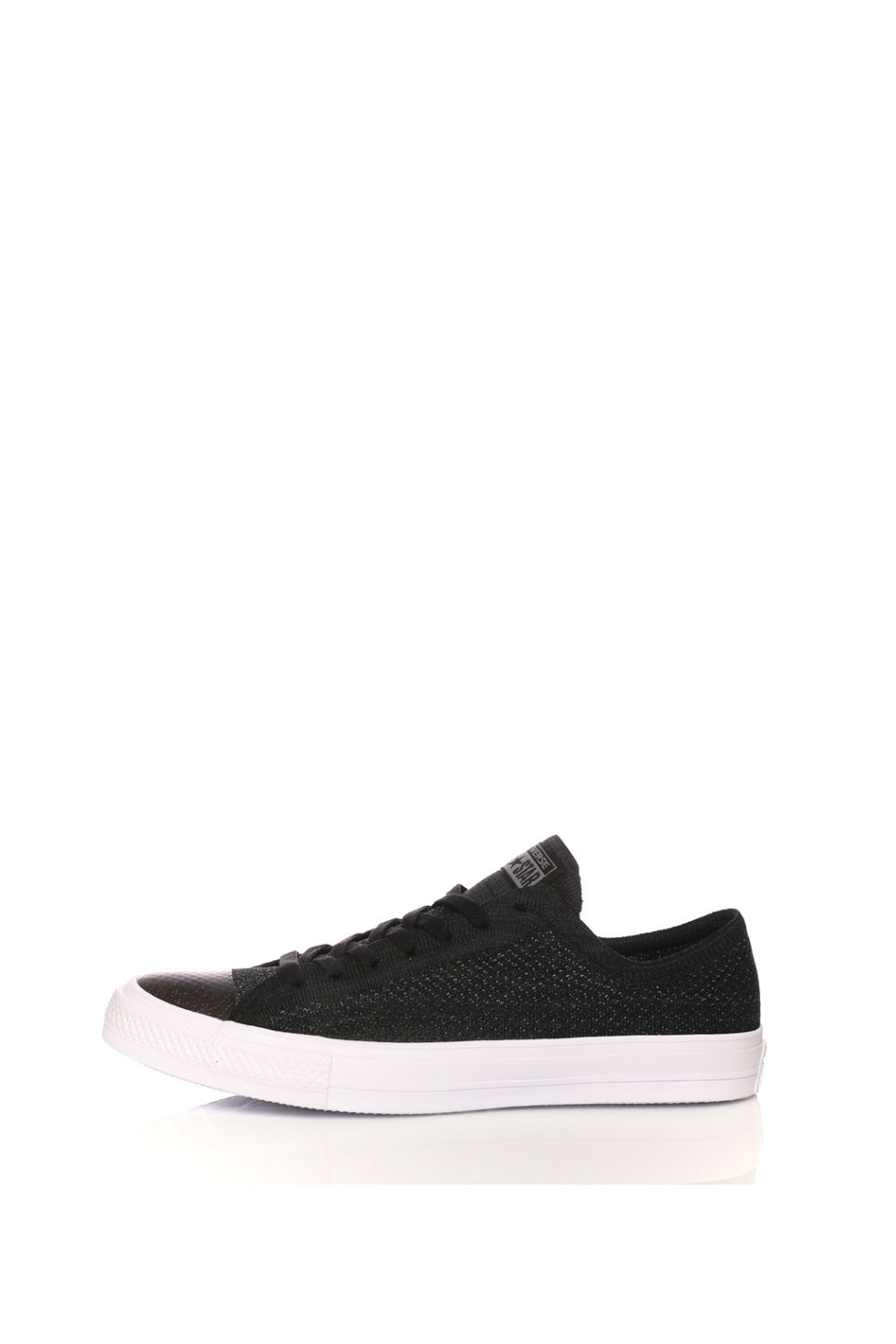 CONVERSE – Unisex sneakers CONVERSE Chuck Taylor All Star OX Flykn μαύρα