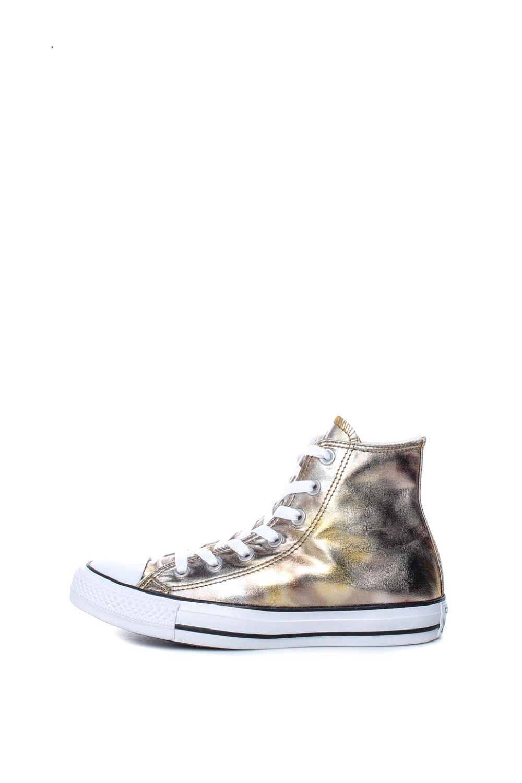 CONVERSE – Γυναικεία ψηλά sneakers CONVERSE Chuck Taylor All Star Hi χρυσό-μπρονζέ