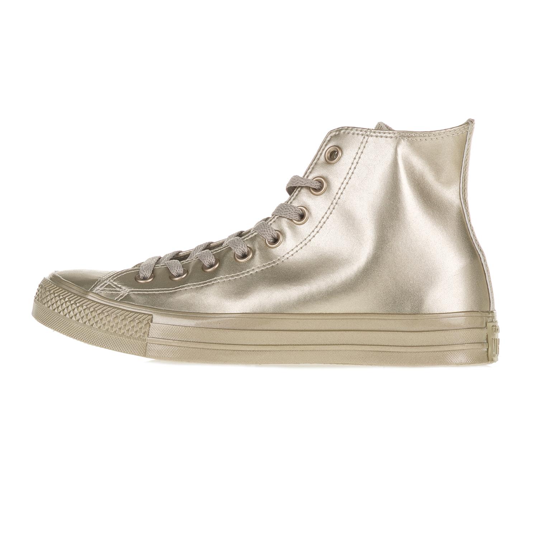 CONVERSE – Γυναικεία μποτάκια CONVERSE Chuck Taylor All Star Hi χρυσά