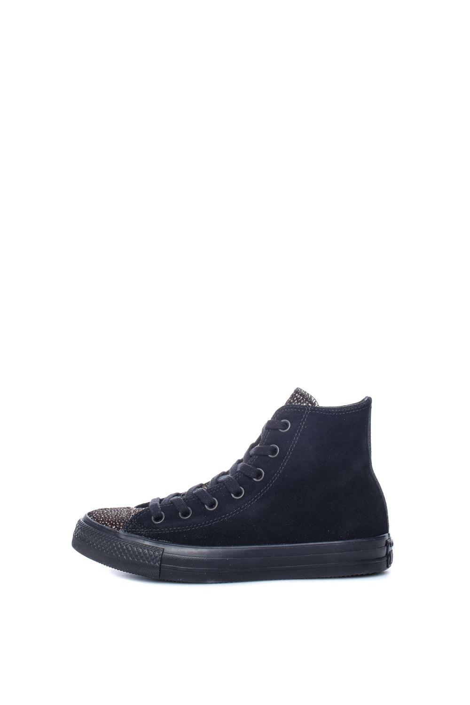 CONVERSE – Γυναικεία ψηλά sneakers CONVERSE Chuck Taylor All Star Hi μαύρα