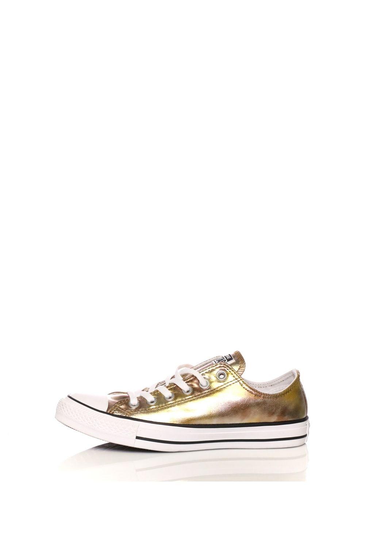CONVERSE – Γυναικεία sneakers CONVERSE Chuck Taylor All Star Ox χρυσά