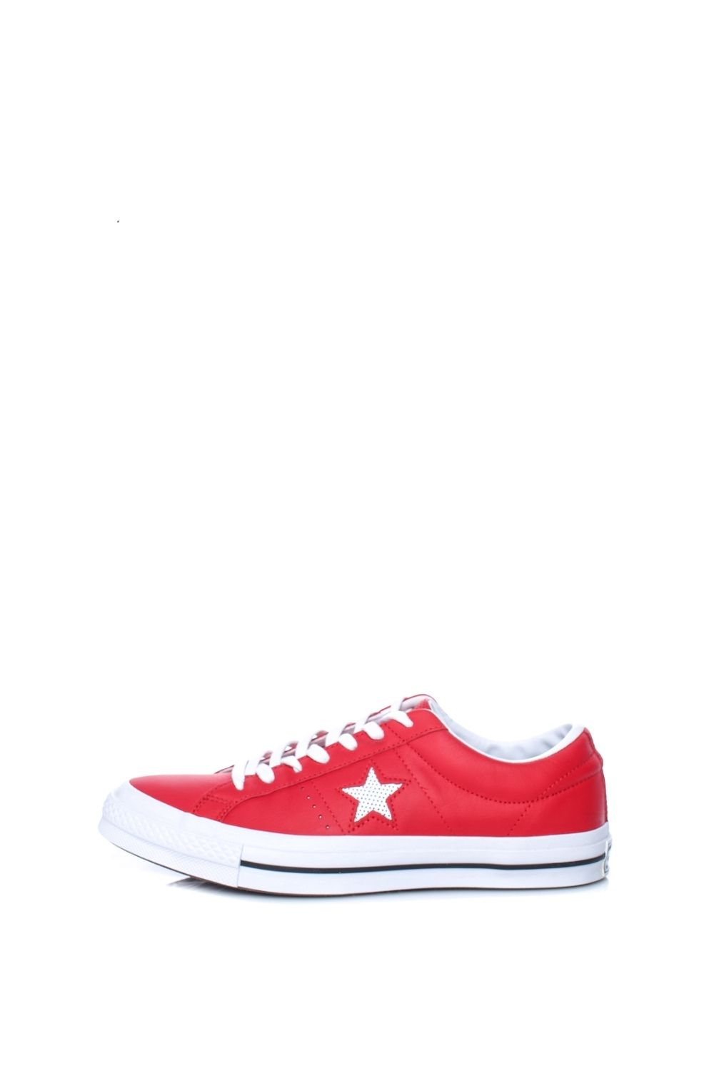CONVERSE – Unisex sneakers CONVERSE One Star Ox κόκκινα