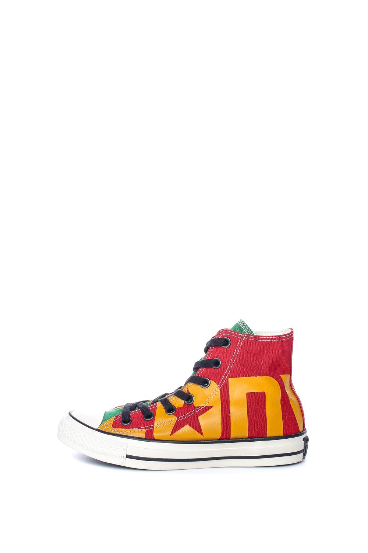CONVERSE – Unisex παπούτσια Chuck Taylor All Star Hi κόκκινα-πράσινα