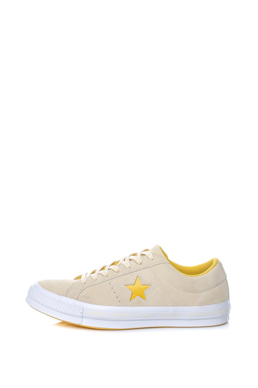 CONVERSE – Unisex παπούτσια One Star Ox μπεζ