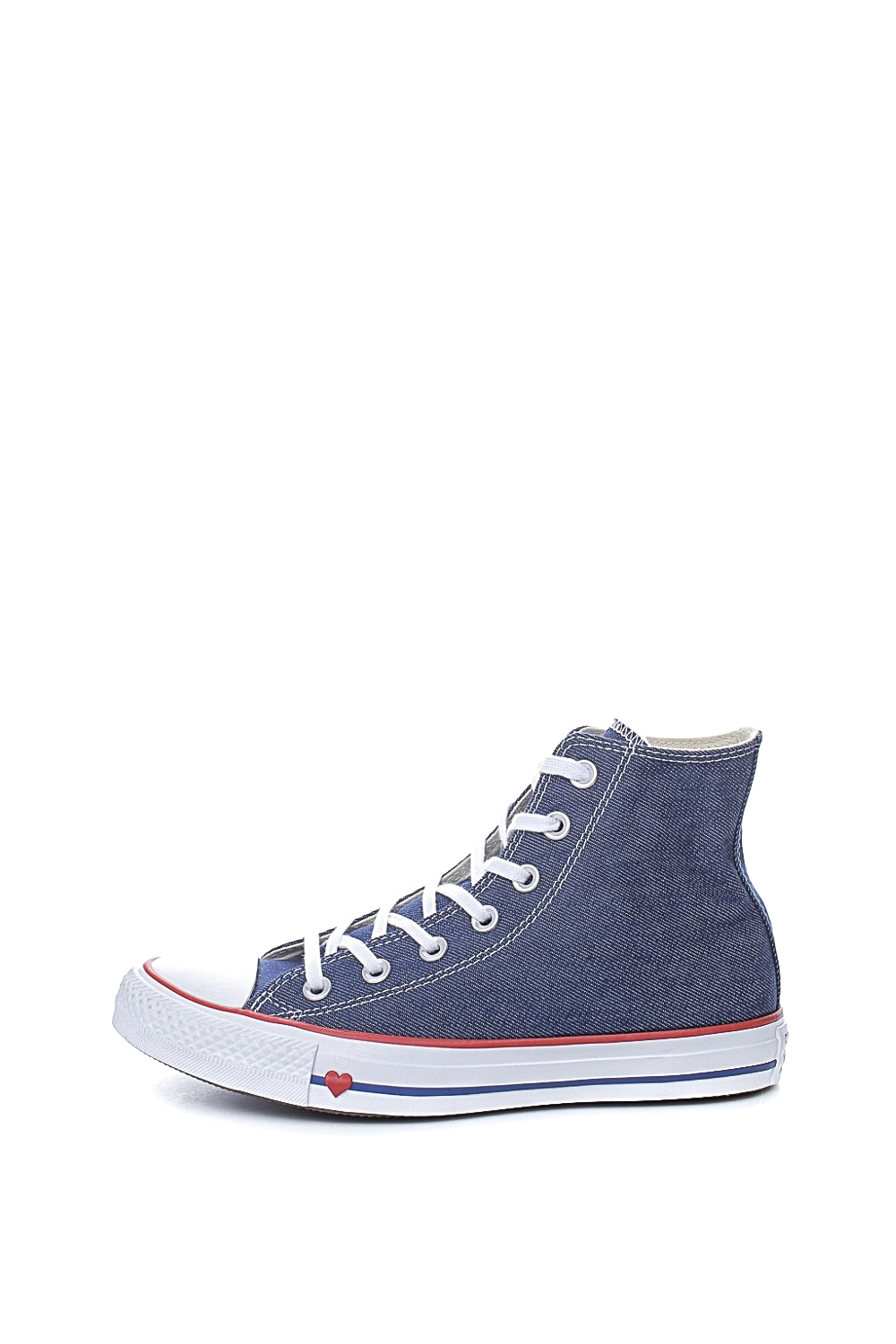 CONVERSE - Unisex Τζιν Sneakers CONVERSE Chuck Taylor All Star Hi Μπλε