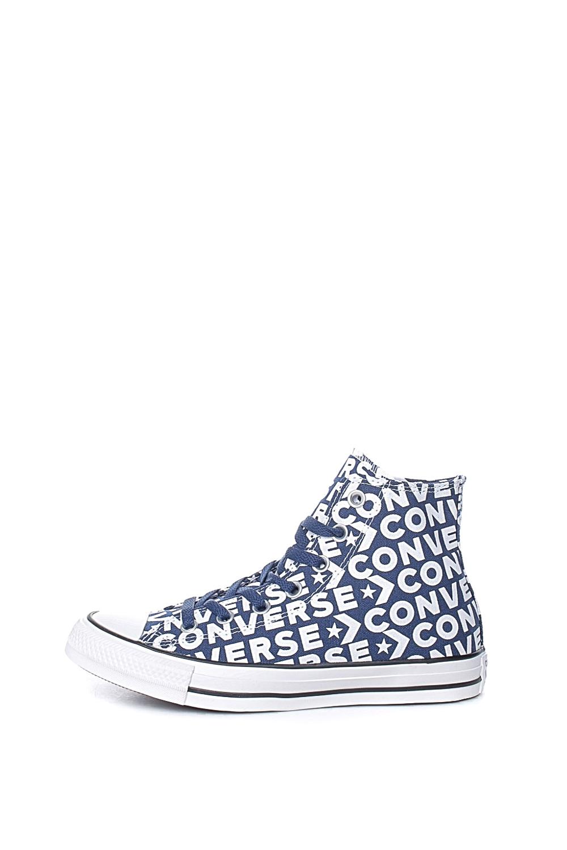 CONVERSE - Unisex ψηλά sneakers CONVERSE Chuck Taylor All Star Hi μπλε λευκά
